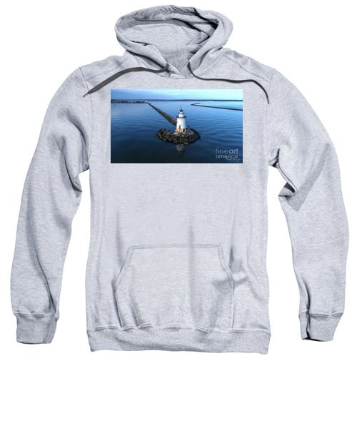 Old Saybrook Outer Lighthouse Sweatshirt