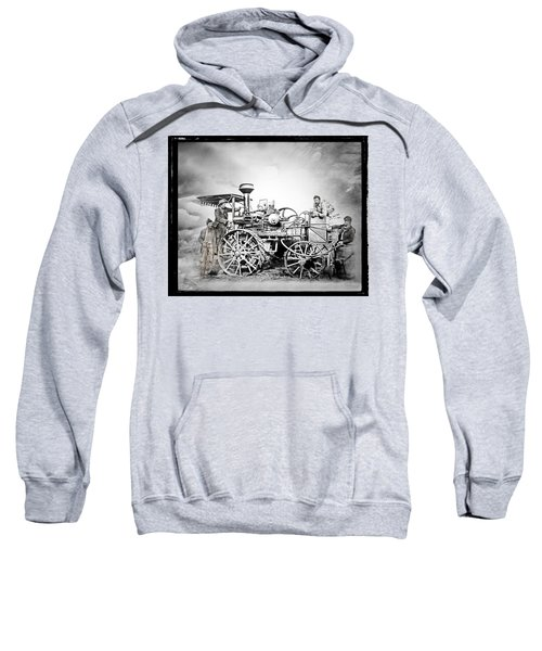 Old Steam Tractor Sweatshirt