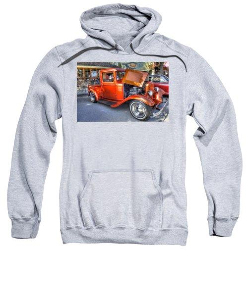 Old Timer Orange Truck Sweatshirt