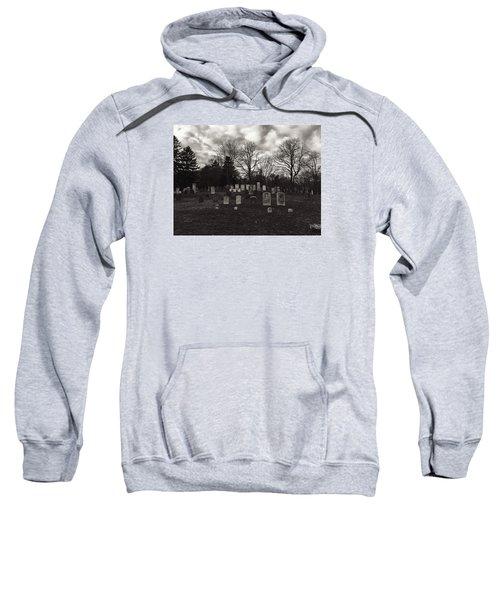 Old Town Cemetery , Sandwich Massachusetts  Sweatshirt