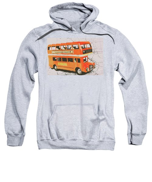 Old United Kingdom Travel Scene Sweatshirt