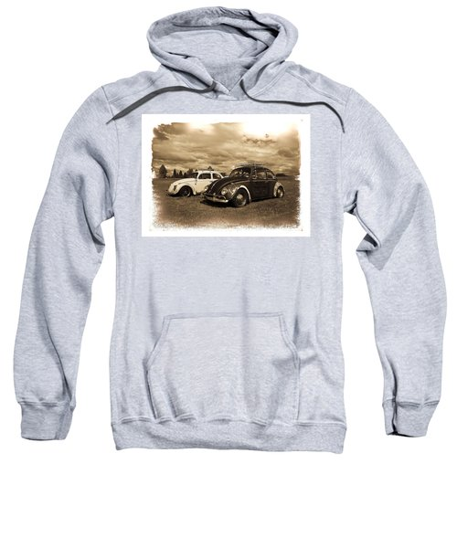 Old Vw Beetles Sweatshirt