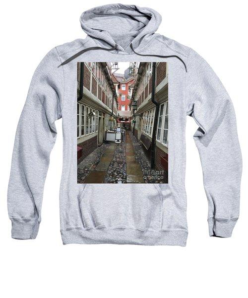 Krameramtsstuben The Oldest Street In Hamburg Germany Sweatshirt