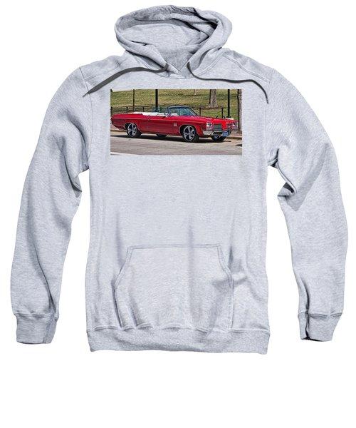 Oldsmobile Delta Royale 88 Red Convertible Sweatshirt
