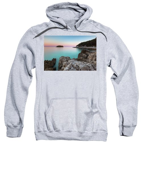 On The Beach In Dawn Sweatshirt