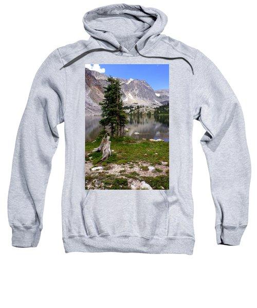 On The Snowy Mountain Loop Sweatshirt