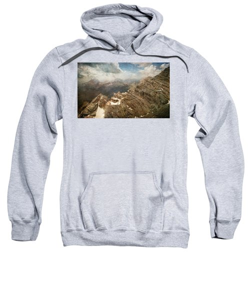 On The Top Of The Mountain  Sweatshirt