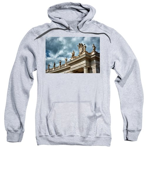 On Top Of The Tuscan Colonnades Sweatshirt