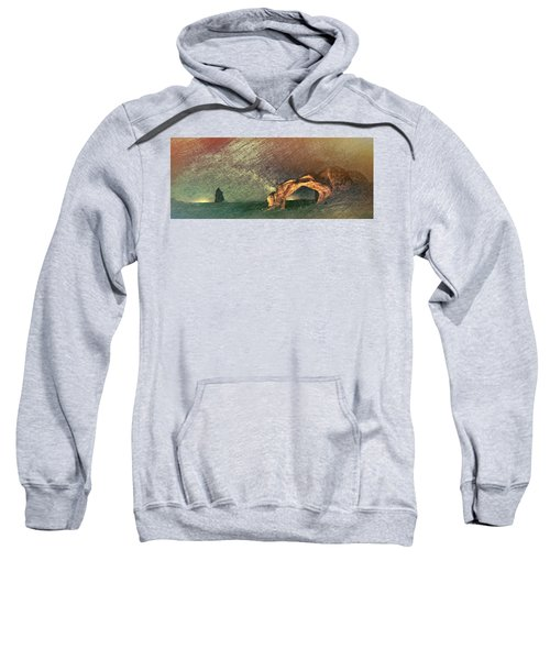 Once Again There Was The Desert Sweatshirt