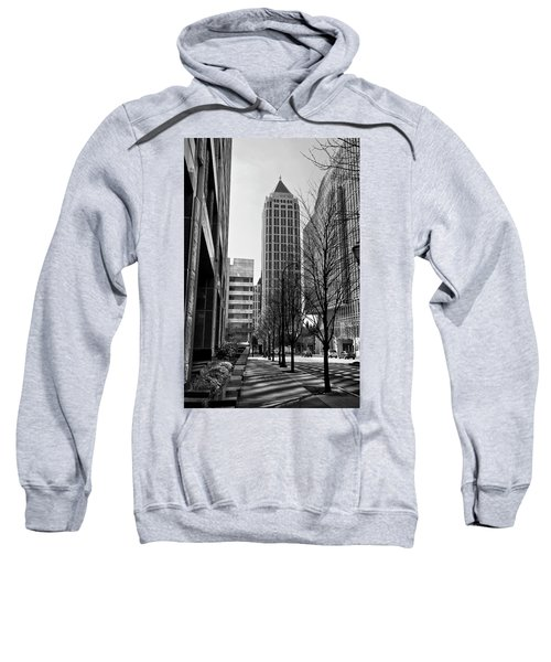 One Atlantic Center In Black And White Sweatshirt