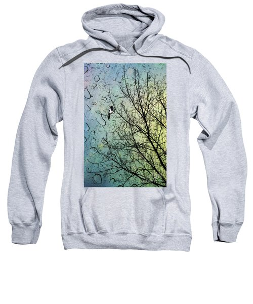One For Sorrow Sweatshirt by John Edwards