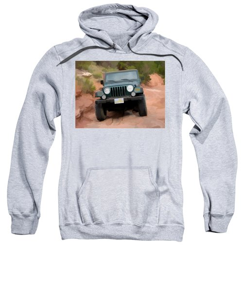 Only Jeeps Here Sweatshirt