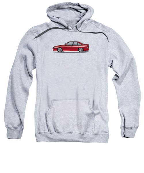 Opel Omega A, Vauxhall Carlton 3000 Gsi 24v Red Sweatshirt