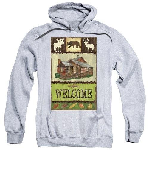 Open Season Panel Sweatshirt