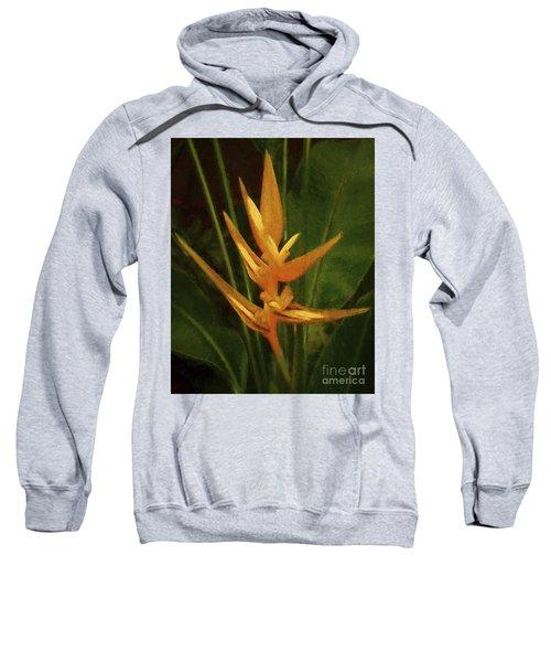 Orange Art Sweatshirt