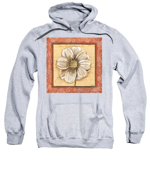 Orange Bohemian Dahlia 1 Sweatshirt