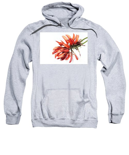 Sweatshirt featuring the photograph Orange Clover I by Stephen Mitchell