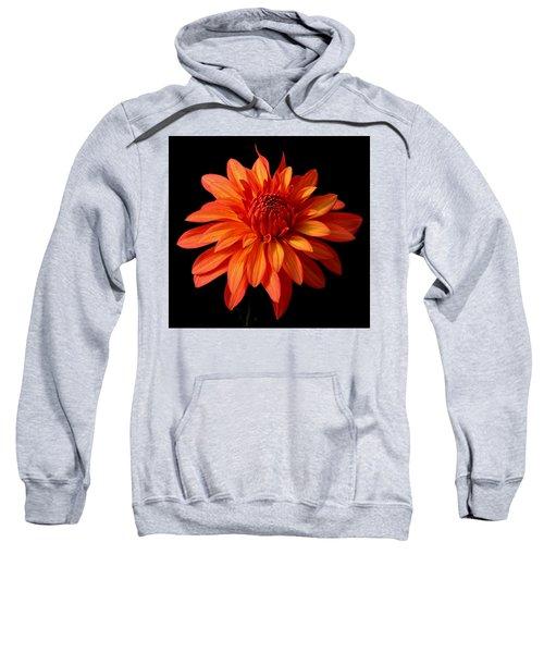 Orange Flame Sweatshirt