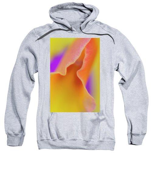 Orange Orchid Sweatshirt