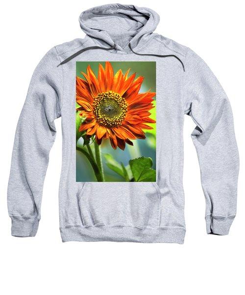 Orange Sunflower Sweatshirt