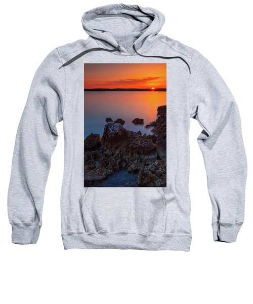 Orange Sunrise Sweatshirt