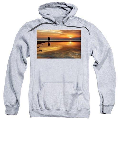Orange Sunset   Sweatshirt