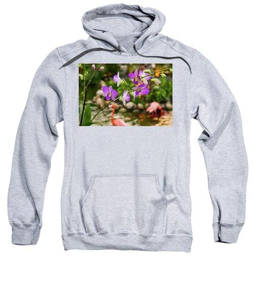 Orchids In Paradise Sweatshirt