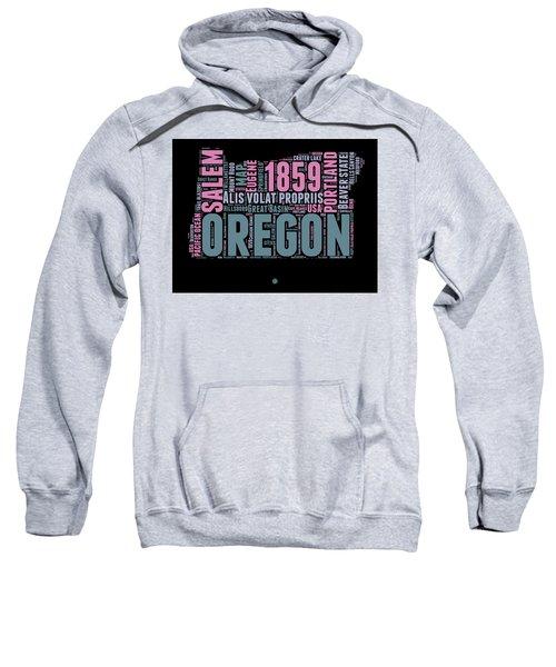 Oregon Word Cloud 2 Sweatshirt