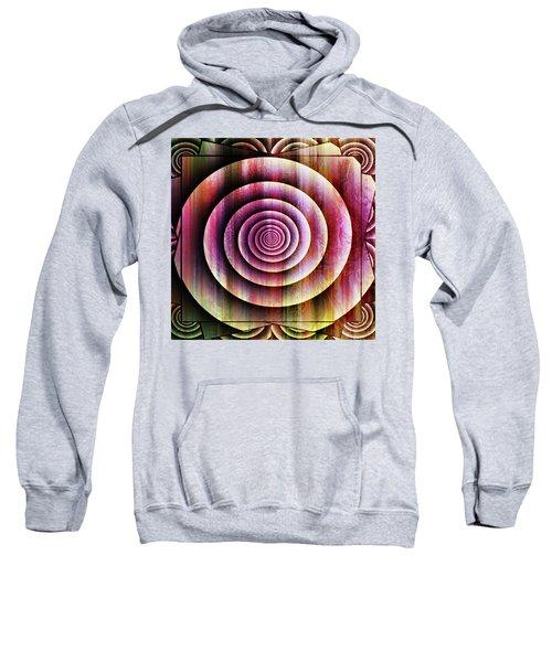 Ornate Shell Abstract Wall Art Sweatshirt