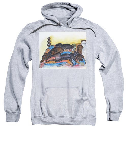 Our Bed Now Sweatshirt