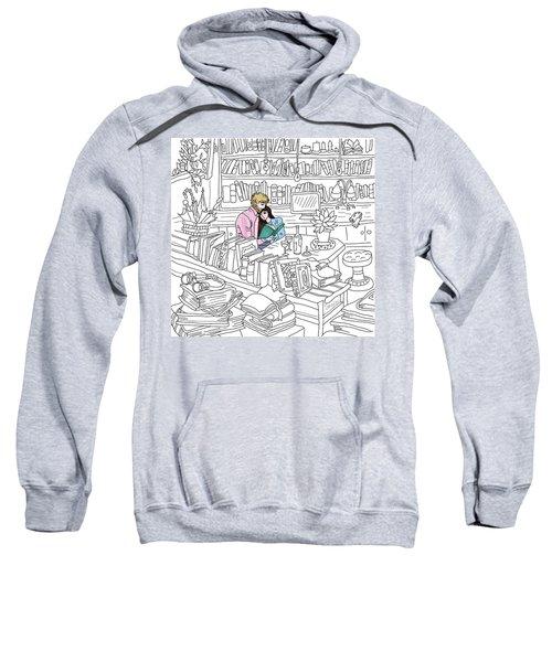 Our Place Sweatshirt by Smokini Graphics