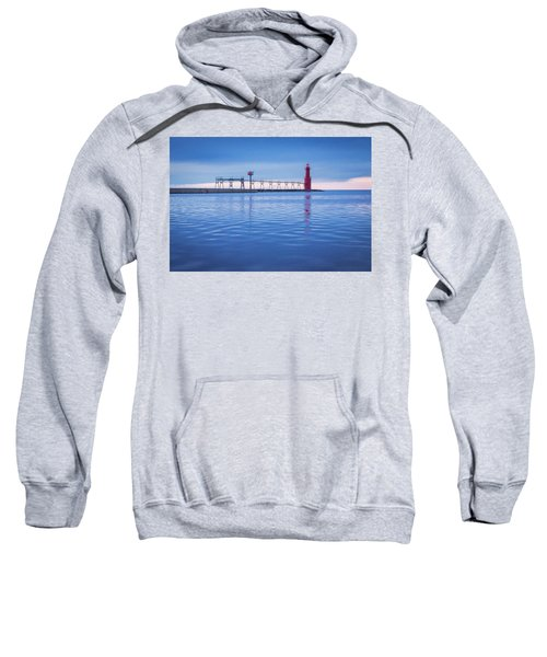 Sweatshirt featuring the photograph Out Of The Blue by Bill Pevlor