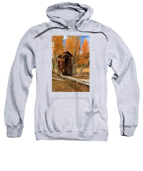 Outhouse In The Aspens Sweatshirt