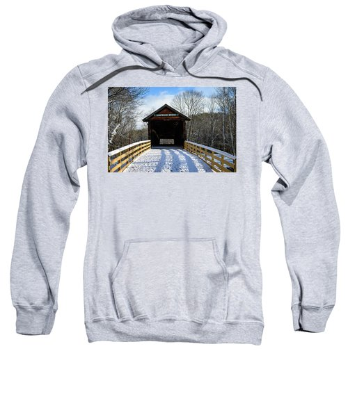 Over The River And Through The Bridge Sweatshirt