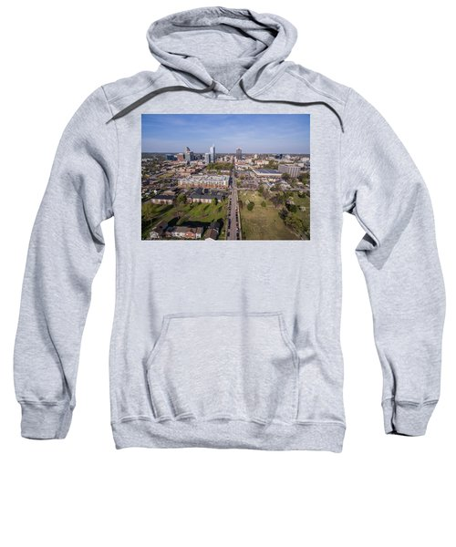Overlooking Downtown Raleigh, Nc On A Spring Morning. Sweatshirt