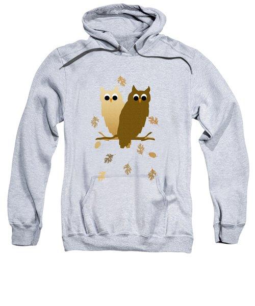 Owls Pattern Art Sweatshirt
