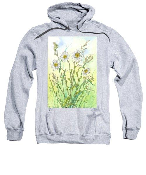 Ox-eye Daisies 2 Sweatshirt