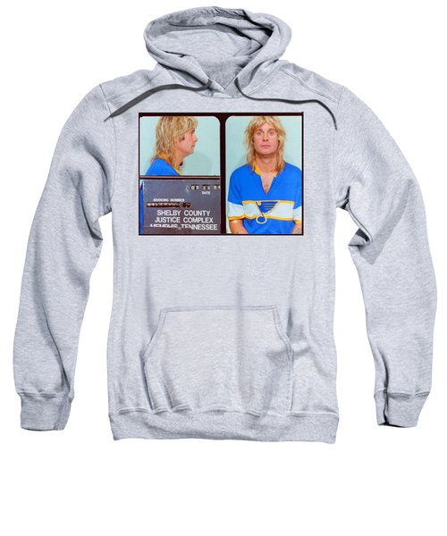 Ozzy Osbourne Mug Shot Color Horizontal Sweatshirt