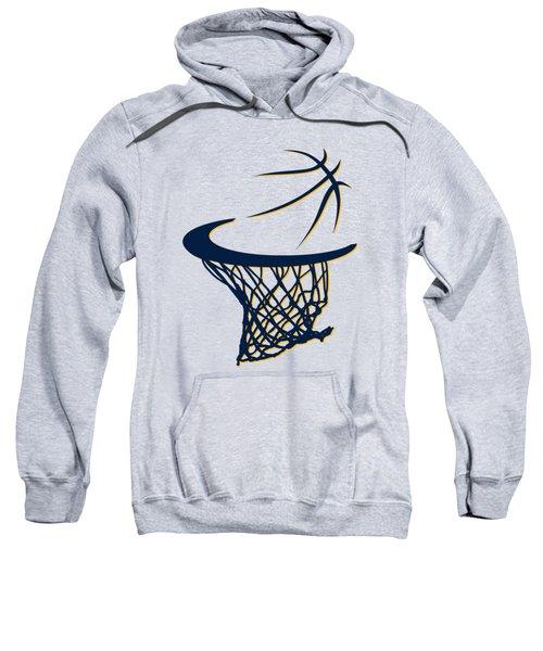 Pacers Basketball Hoop Sweatshirt