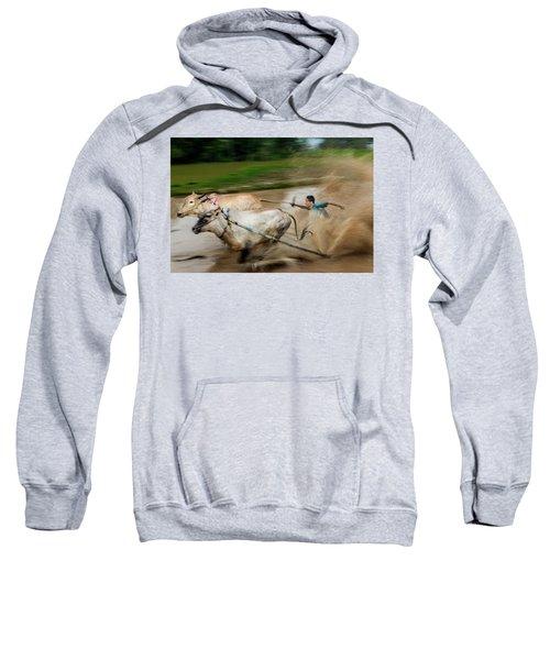 Pacu Jawi Bull Race Festival Sweatshirt