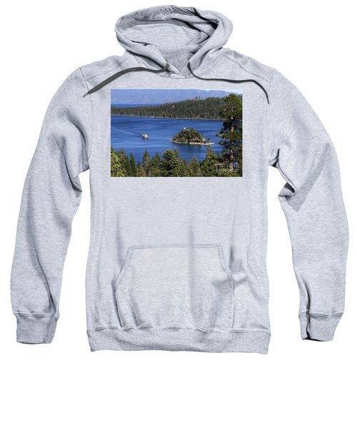 Paddle Boat Emerald Bay Lake Tahoe California Sweatshirt