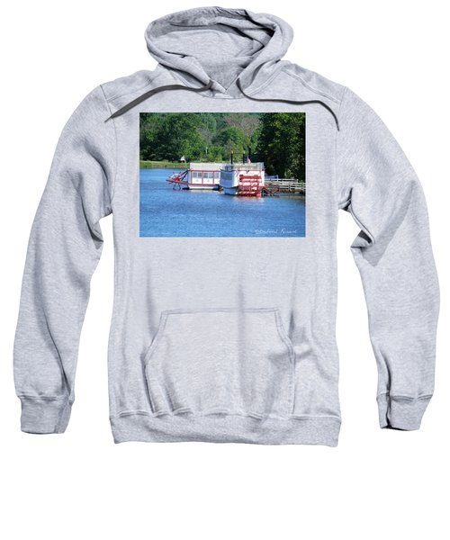 Paddleboat On The River Sweatshirt