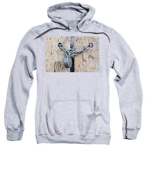 Padlock And Chain Sweatshirt