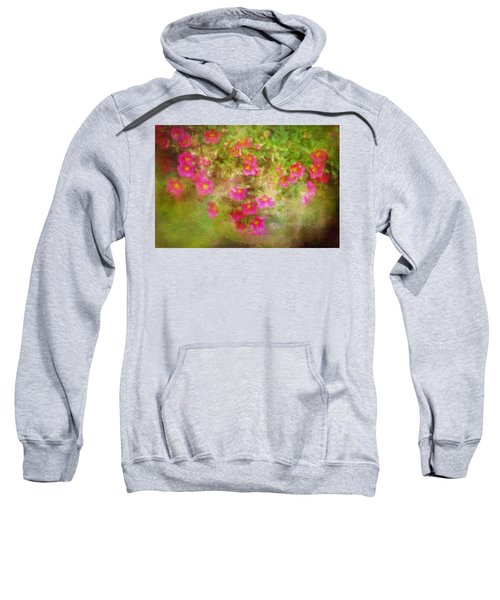 Painted Flowers Sweatshirt