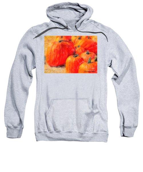 Painted Pumpkins Sweatshirt