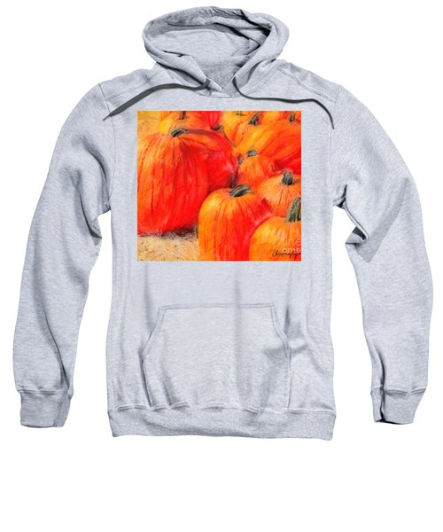 Painted Pumpkins Sweatshirt