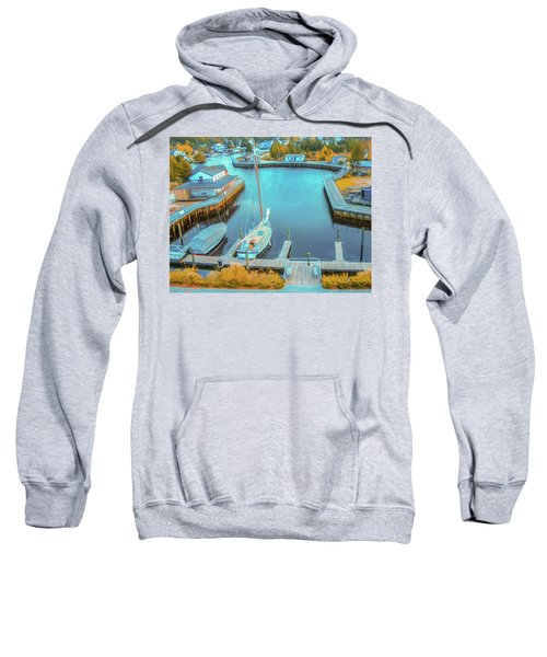 Painterly Tuckerton Seaport Sweatshirt