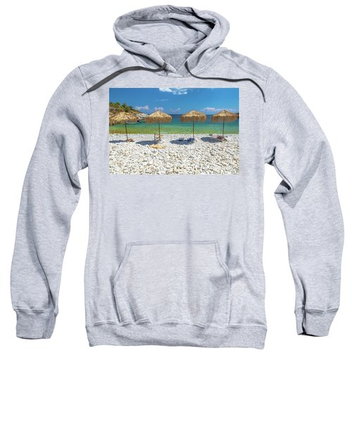 Palapa Umbrellas Sweatshirt