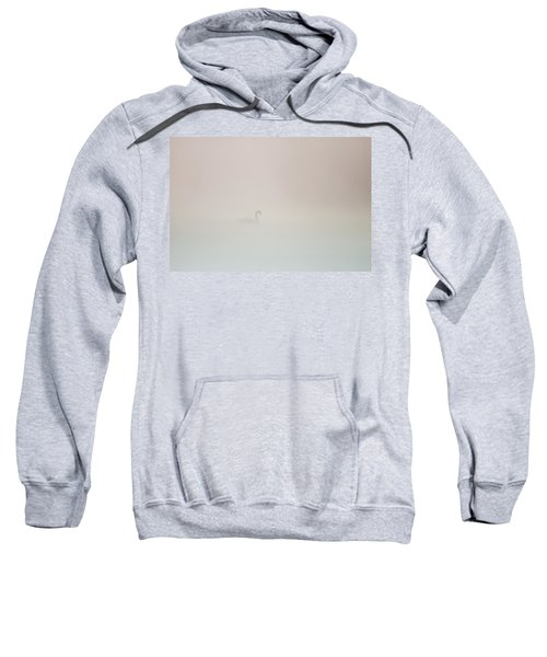 Pale Outline In The Fog Sweatshirt