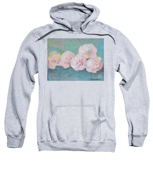 Pale Pink Peonies Sweatshirt